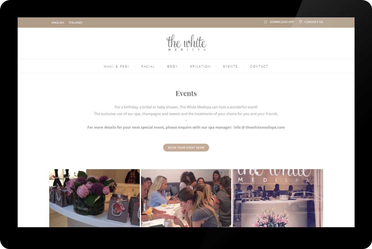 thewhitemedispa - events