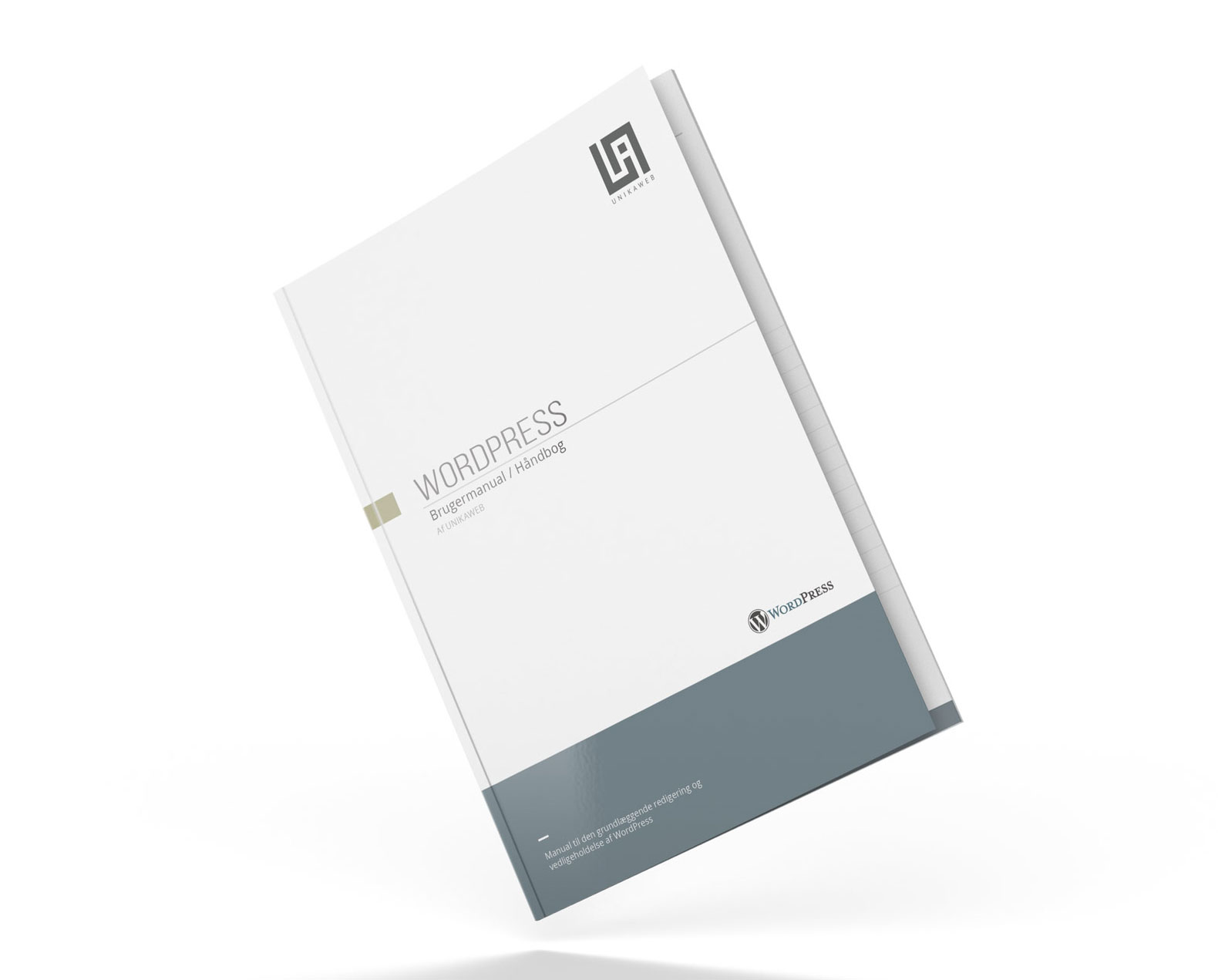 WordPress manual cover