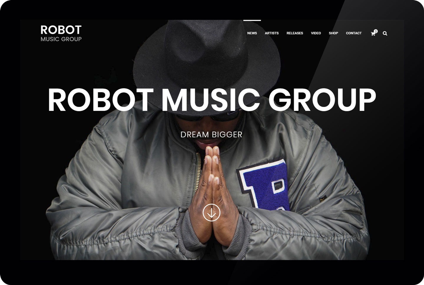 Robot Music Group - forside
